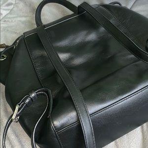 Michael Kors Bags - Michael Kors black Leather Backpack